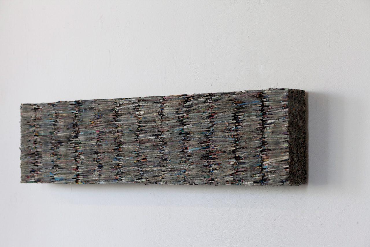 Kubus 2, 2010, Papier